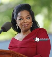 Oprah Winfrey delivers the commencement speech at Harvard University's 362nd graduation ceremony