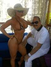 Ice-T and Coco in Vegas