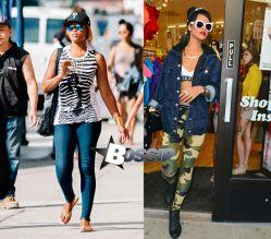 Eve shops in Soho Rihanna shops in NYC