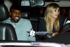 Kim Kardashian, Kanye West and baby North have dinner at Hakkasan.