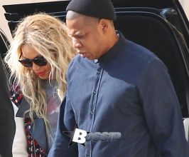 EXCLUSIVE Beyonce and Jay Z shopping at Barneys New York in Beverly Hills