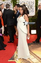 Actress Kerry Washington attends the 71st Annual Golden Globe Awards held at The Beverly Hilton Hotel on January 12, 2014 in Beverly Hills, California. (Photo by Jason Merritt/Getty Images)