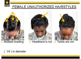 Army guidelines for grooming standards