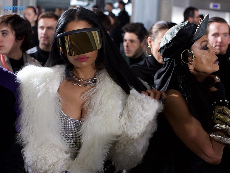 Nicki Minaj, Michele Lamy_WENN
