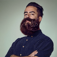 animal beard for schick free your skin campaign