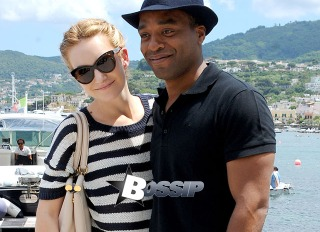 Chiwetel Ejiofor and his girlfriend Sari Mercer arrive in Ischia for the Ischia Global Fest. The couple walked hand-in-hand and posed for pictures together before making their way in to their hotel.