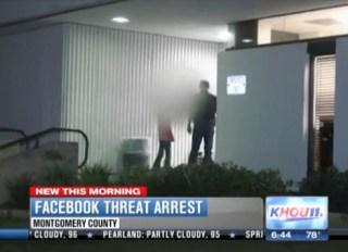 teen threatens town on Facebook