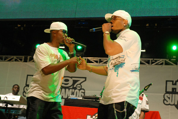 LL Cool J and Jamie Foxx