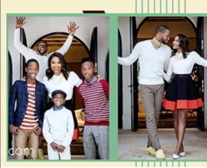 Dwyane Wade and Gabrielle Union share family holiday shoot