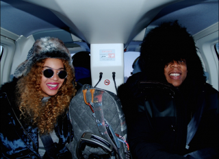 Beyonce and Jay Z visited Iceland for his birthday