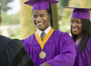 black college grads