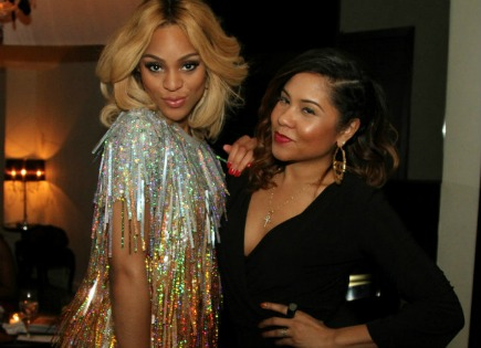 Brianna Perry Hosts Private Dinner With Angela Yee In Nyc Bossip