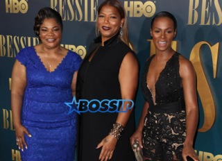 Mo'Nique Queen Latifah Tika Sumpter HBO Films Bessie Screening