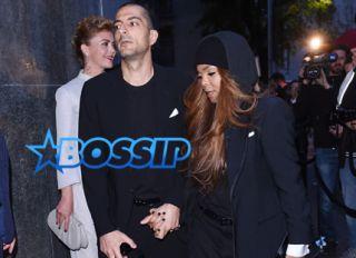 Wissam Al Mana and Janet Jackson Giorgio Armani 40th Anniversary Dinner reception at Nobu