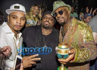 "Big Gipp performs under his new Moniker ""Zagga"" at the Viper Room in West Hollywood The event brought out Cee-Lo Green, Cavie, Edidon from Tupac's Outlawz, Bishop Don Magic Juan"