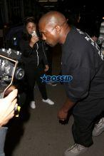 Kim Kardashian Kanye West all black airport met gala