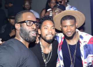 Usher and Miguel host bet awards 2015 post awards