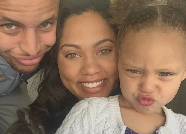 Riley Curry Steph Curry Ayesha Curry feat