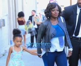Viola Davis Genesis Tennon ABC Studios Jimmy Kimmel Live