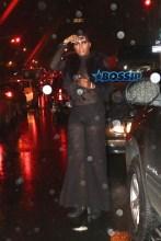 EJ Johnson sheer black top and pants Rihanna Block Party