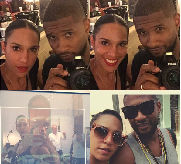 Usher Raymond Grace Miguel celebrate marriage with trip to Cuba