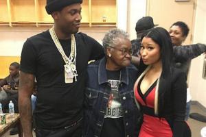 Meek Mill, granny and Nicki Minaj