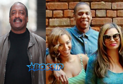 Mathew Knowles Jay Z Beyonce