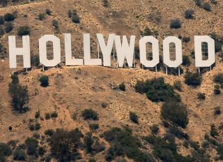 Hollywood sign SplashNews