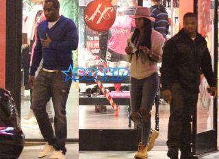SplashNews FameFlynet Diddy and Cassie