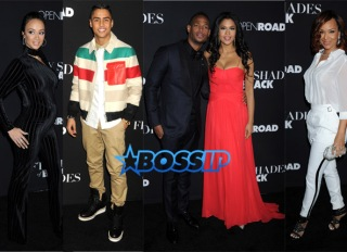 SplashNews 50 Shades of Black Quincy Brown Marlon Wayans Kali Hawk Draya Michele Lisa Raye McCoy