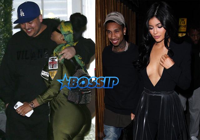 FameFlynetPictures Blac Chyna Rob Kardashian Kylie Jenner Tyga