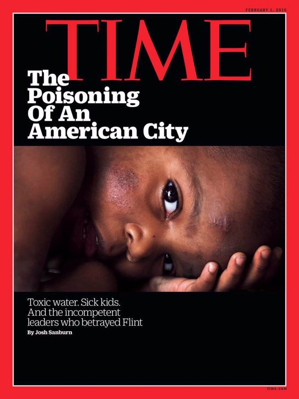 Time magazine Flint water issue