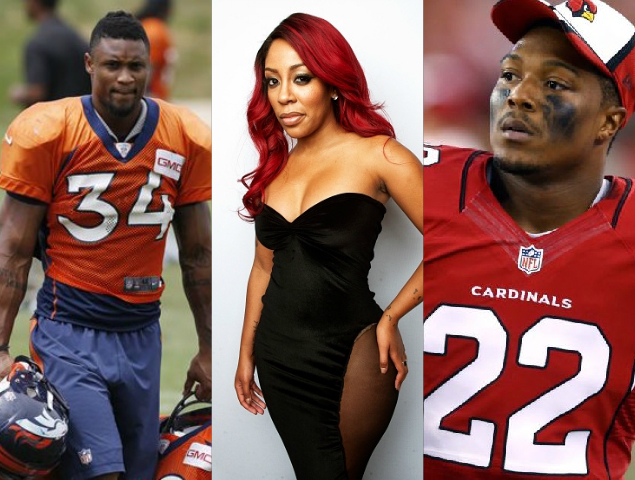 K Michelle responds to Tony Jefferson and Brennan Clay