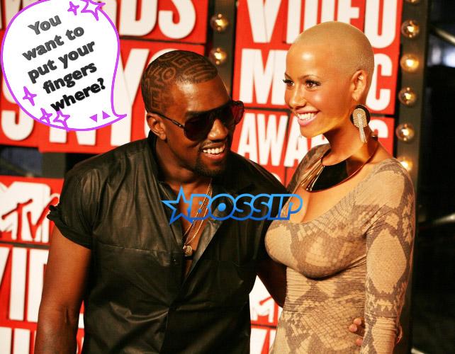 WENN Kanye WEst Amber Rose