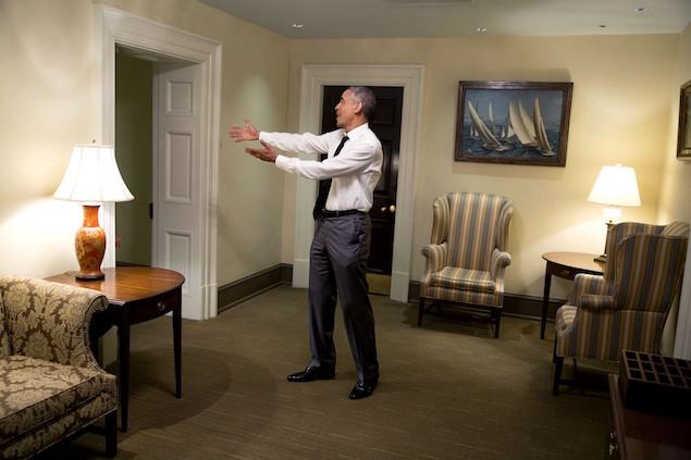 President Barack Obama 11 please