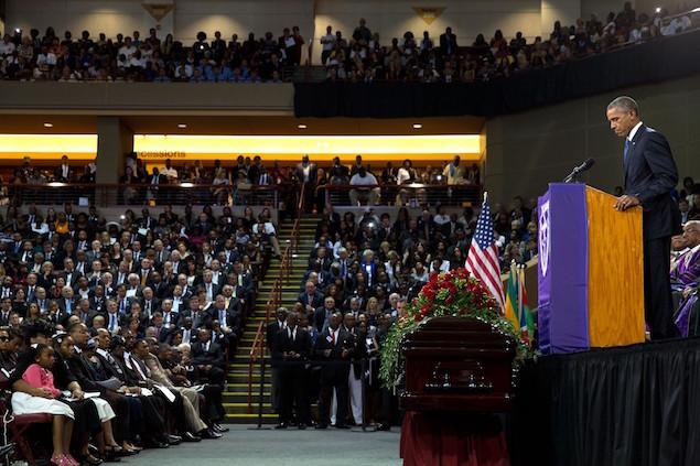 President Barack Obama 19 Clementa Pinckney eulogy