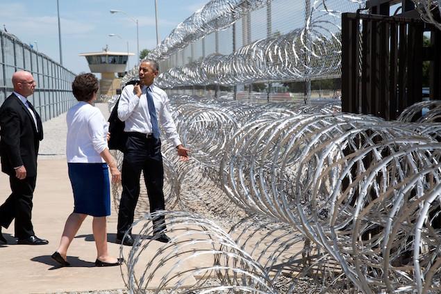 President Barack Obama 21 prison