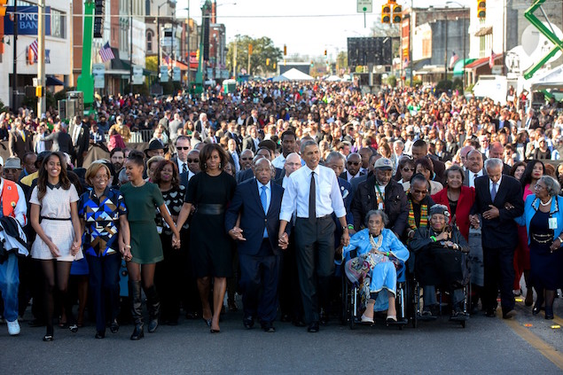 President Barack Obama 4 Selma march