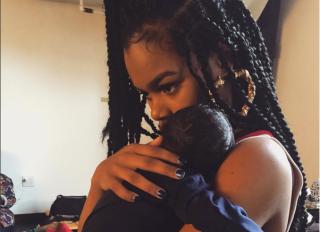 Teyana Taylor and baby girl Iman Tayla Shumpert Jr.