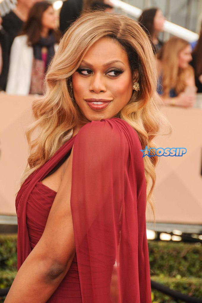22nd Annual Screen Actors Guild Awards at The Shrine Expo Hall - Arrivals Featuring: Laverne Cox Where: Los Angeles, California, United States When: 30 Jan 2016 Credit: FayesVision/WENN.com
