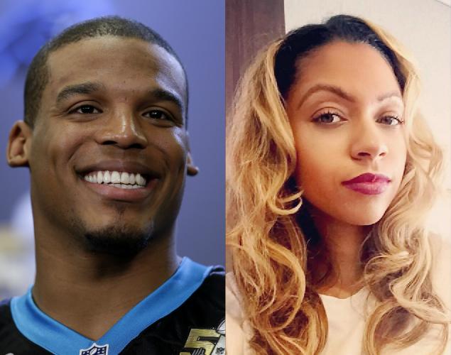 Cam Newton girlfriend Kia Proctor Super Bowl WAGs