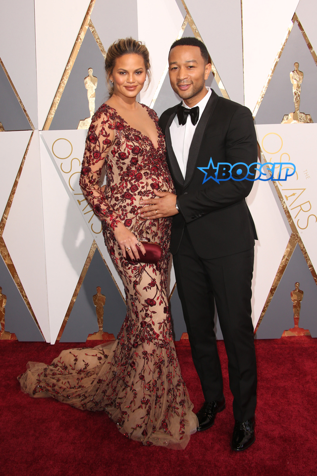 WENN Oscars Chrissy Teigen John Legend
