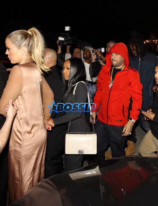 AKM-GSI Khloe Kardashian French Montana Boa Steakhouse Nice Guy Ace of Diamonds