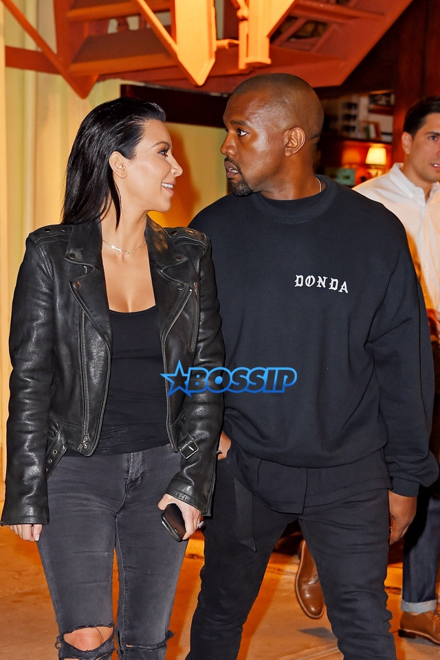 AKM-GSI Kim Kardashian Kanye West all black divorce rumors