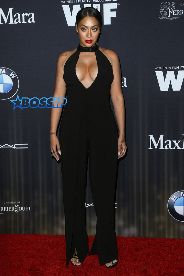 SplashNews La La Anthony 9th Annual Women In Film Pre-Oscar Cocktail Party Presented By Max Mara, BMW, M.A.C Cosmetics And Perrier-Jouet held at the Hyde Sunset Kitchen + Cocktails
