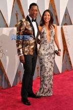 SplashNews 88th Annual Academy Awards Orlando Jones Date