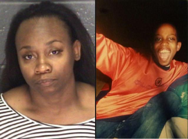 Virginia State Police/Bailey Fett photos of Tonya Slaton and her deceased son Quincy Jamar Davis