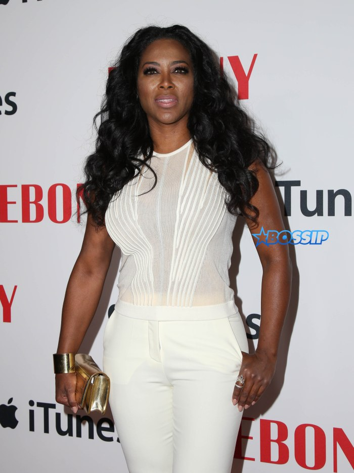 TV Personality and 'Real Housewives of Atlanta' star Kenya Moore attends the Ebony Magazine And Apple Celebrate Black Hollywood party at NeueHouse Hollywood in Los Angeles, amid rumours she might be pregnant Pictured: Kenya Moore Ref: SPL1237304 270216 Picture by: @Parisa / Splash News Splash News and Pictures Los Angeles:310-821-2666 New York:212-619-2666 London:870-934-2666 photodesk@splashnews.com