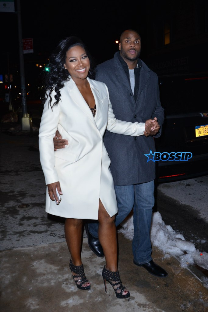 New couple Kenya Moore and Matt Jordan out in New York Featuring: Kenya Moore, Matt Jordan Where: Manhattan, New York, United States When: 31 Jan 2016 Credit: TNYF/WENN.com