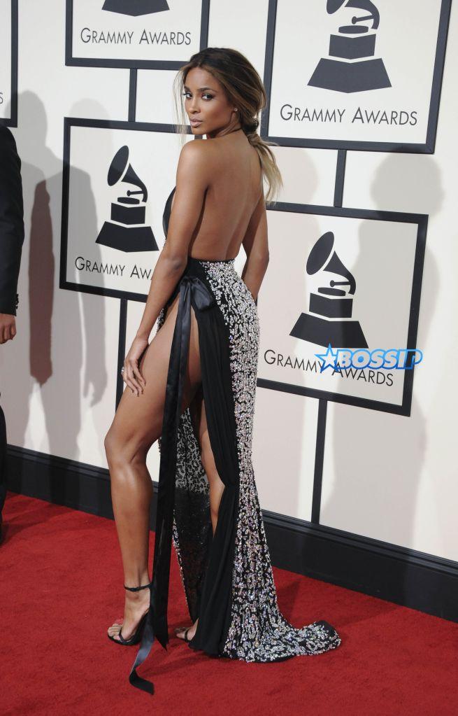 The 58th Annual Grammy Awards Arrivals Featuring: Ciara Where: Los Angeles, California, United States When: 16 Feb 2016 Credit: Apega/WENN.com